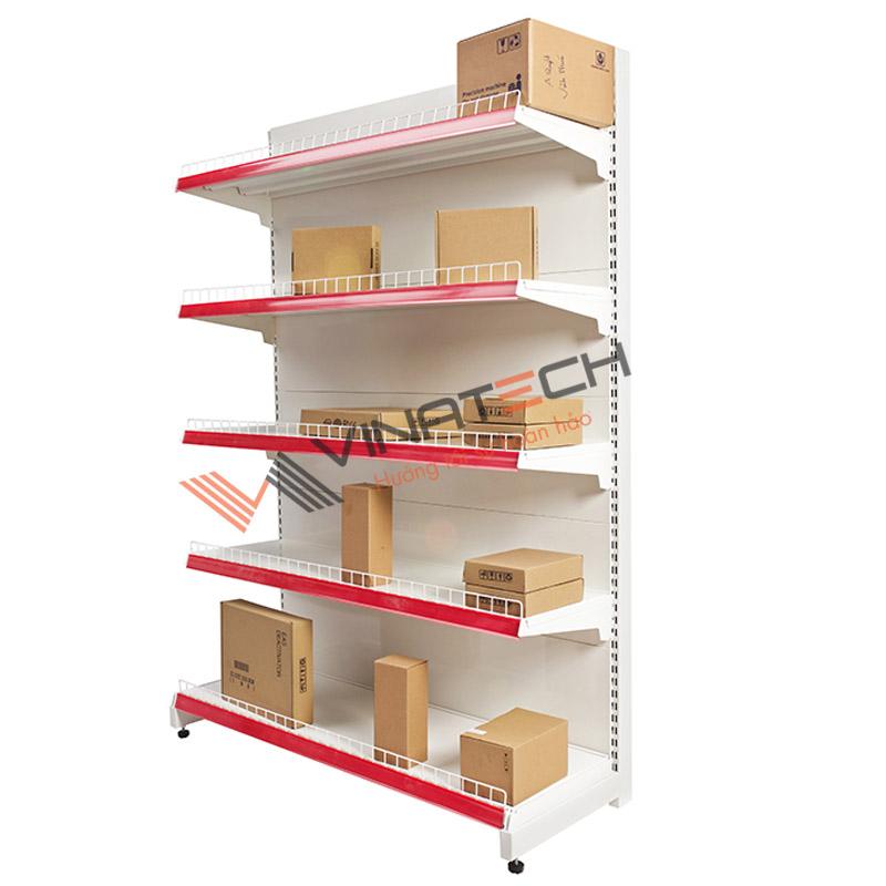 Kệ đơn siêu thị tôn liền 120cm - 180cm