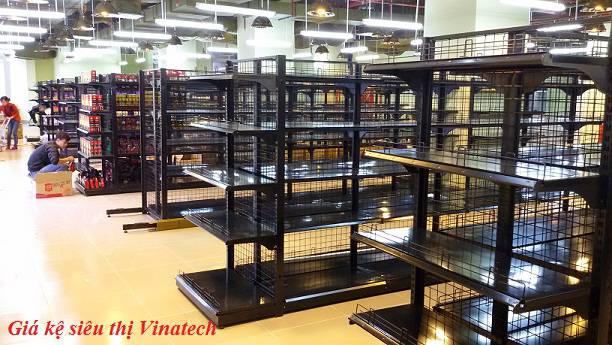 Lắp đặt kệ trưng bày hàng hóa trong siêu thị Mường Thanh mart toàn quốc
