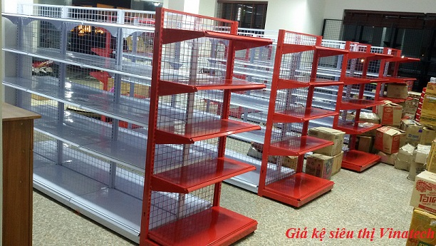 Giá kệ siêu thị tại Lai Châu bền đẹp dễ lắp đặt