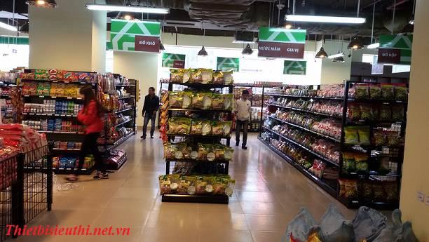 Sử dụng kệ siêu thị Việt Nam, lợi ích cho cửa hàng và siêu thị