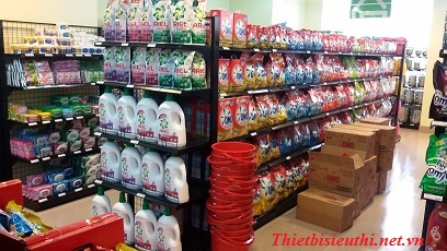 Ưu điểm của kệ siêu thị lưng lưới