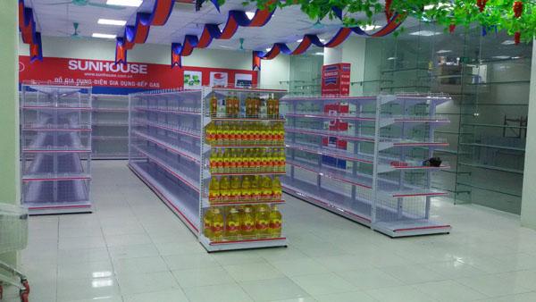 Lưu ý khi mua kệ bày hàng siêu thị tại hà nội