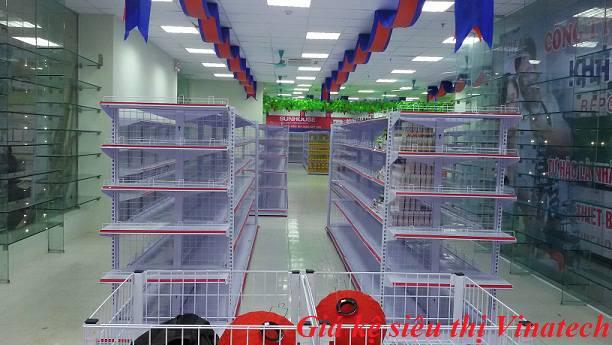 Tổng quan về giá kệ siêu thị