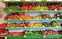 Cách chọn kệ để hàng rau củ, trái cây