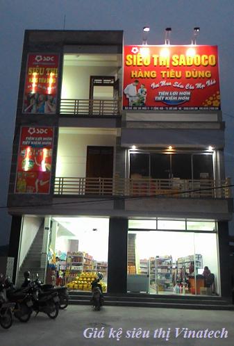 Lắp đặt siêu thị mini SAĐOCO tại Hải Dương