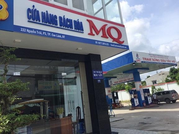 Hoàn thiện lắp đặt kệ bán hàng tạp hóa cho cửa hàng MQ Cao Lãnh, Đồng Tháp