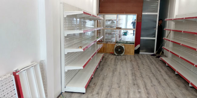 Hoàn thiện cửa hàng tạp hóa cho anh Nam tại Kim Ngưu, Hà Nội