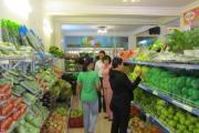 Top 3 kệ bán hàng rau, củ, quả cao cấp, giá rẻ do Vinatech sản xuất