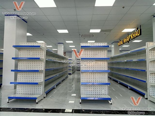 Mẫu đầu kệ siêu thị