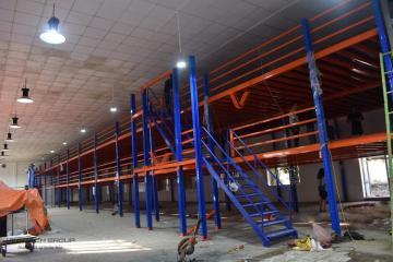 Vinatech lắp đặt kệ sàn Mezzanine tại Tổng công ty May 10 Hà Nội