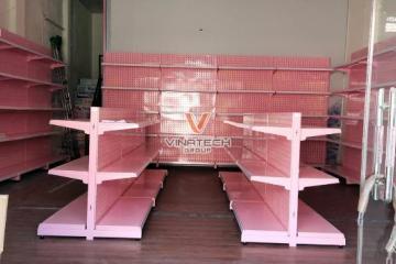 Dự án lắp đặt kệ cho cửa hàng mẹ và bé Trum Tít Baby Hưng Yên