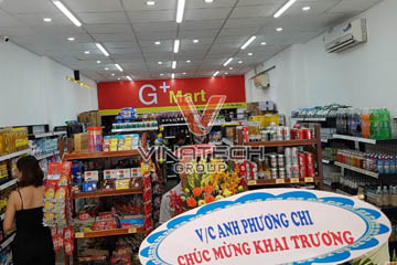 Dự án thiết kế siêu thị G+ Mart tại Đà Nẵng