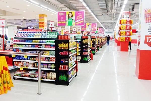 dự án kệ siêu thị go-bigc Vinatech thực hiện