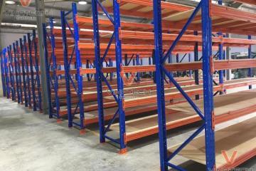Dự án Vinatech lắp đặt kệ kho hàng tại KCN Thụy Vân, Phú Thọ