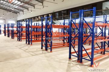 Dự án lắp kệ kho hàng trung tải và hạng nặng tại An Giang 2020