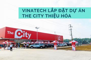 Vinatech hoàn thành dự án The City tại Thanh hóa
