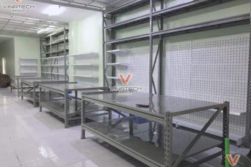 Dự án Vinatech lắp đặt kệ cho Đại Lý Hòa Mỹ tại TP Hồ Chí Minh