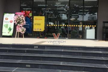 Siêu thị Nhật Bản- Genshai lựa chọn kệ trưng bày Vinatech