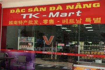 Dự án thiết kế siêu thị TK Mart tại Đà Nẵng