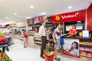 Dự án thiết kế siêu thị mini Vinmart+ tại Hà Nội