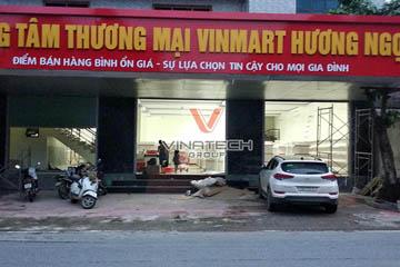 Dự án thiết kế siêu thị Vinmart Hương Ngọc