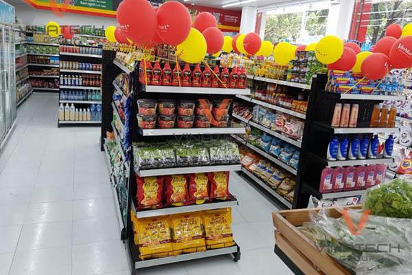 Vinatech thi công dự án chuỗi siêu thị Vinmart+ trên toàn quốc