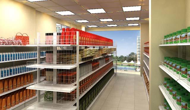 Vinatech chuyên cung cấp các loại giá kệ để hàng cho siêu thị