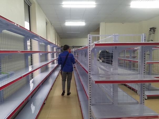 Hoàn thiện lắp đặt siêu thị cho anh Thắng tại thành phố Việt Trì - Phú Thọ