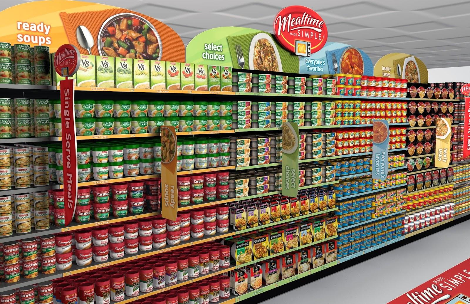 Giá kệ siêu thị giải pháp sắp xếp hàng hóa tiện lợi