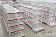 Giá kệ siêu thị quận Tân Phú do Vinatech sản xuất và phân phối
