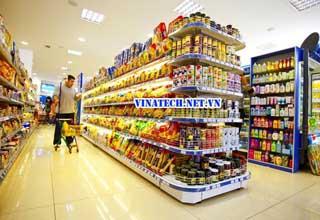 Vinatech cung cấp giải pháp tổng thể và đồng bộ cho siêu thị của bạn
