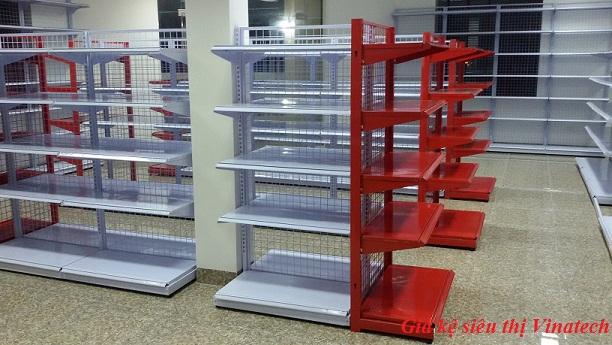 Giá kệ để hàng tạp hóa đa năng dùng trong siêu thị của Vinatech