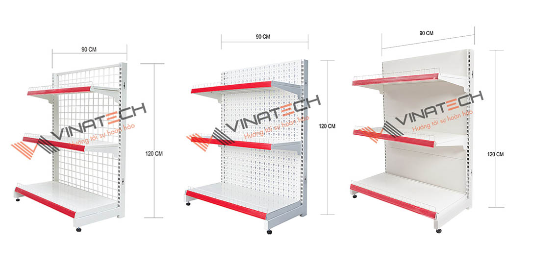 Các mẫu kệ siêu thị Vinatech cung cấp tại Tây Ninh