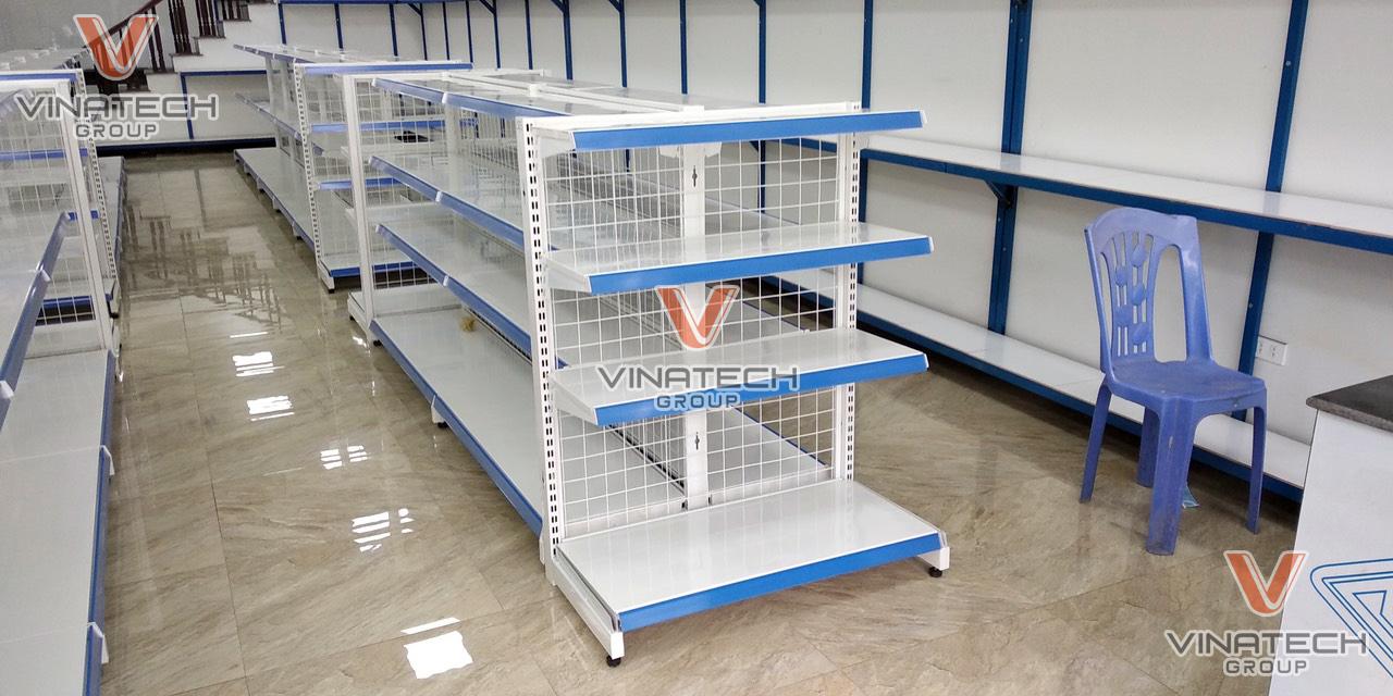 Kệ siêu thị tôn lưới Vinatech sản xuất