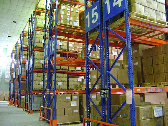 kệ kho hàng cần nên cân nhắc trọng tải của hàng hóa
