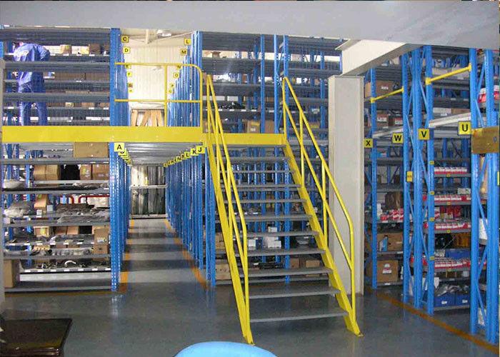 Hình ảnh kệ sàn Mezzanine do Vinatech lắp đặt thực tế
