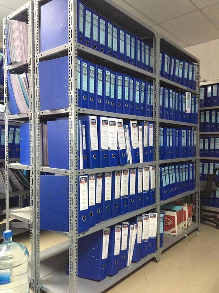 Kệ để hàng đa năng dùng trong thư viện, văn phòng công ty