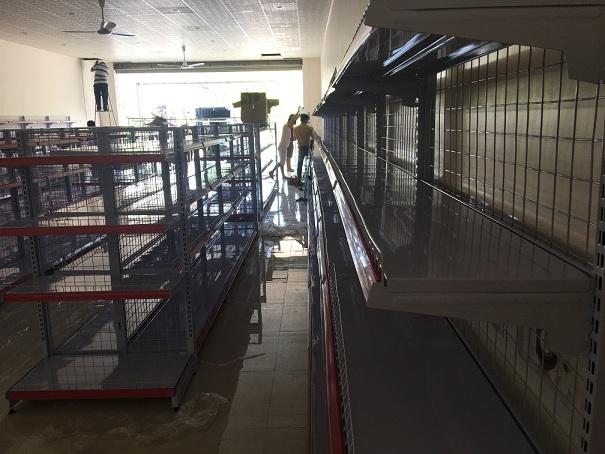 Lắp đặt siêu thị Xmart Bình Phước