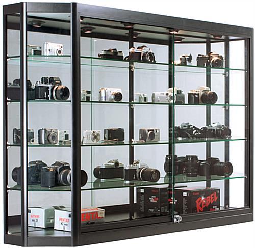 Tủ trưng bày camera đẹp và sang trọng