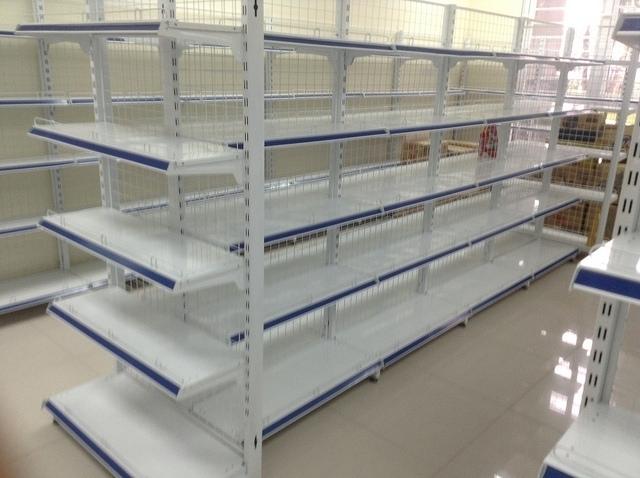 Kích thước chuẩn của giá kệ để hàng siêu thị