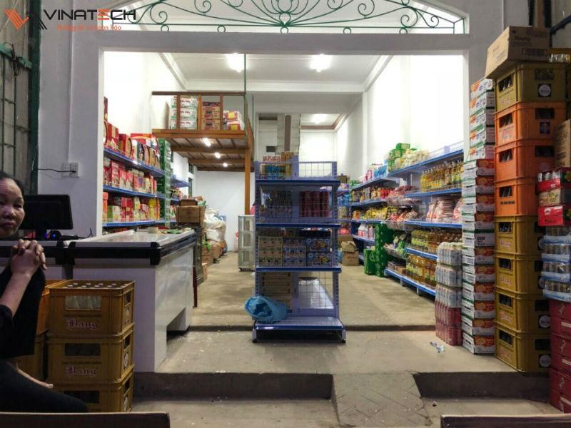 Sản phẩm giá kệ siêu thị của vinatech