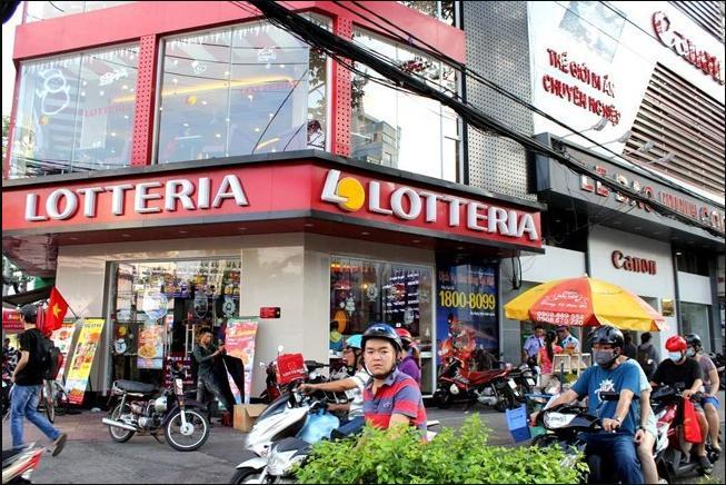 Nhà hàng đồ ăn Lotteria