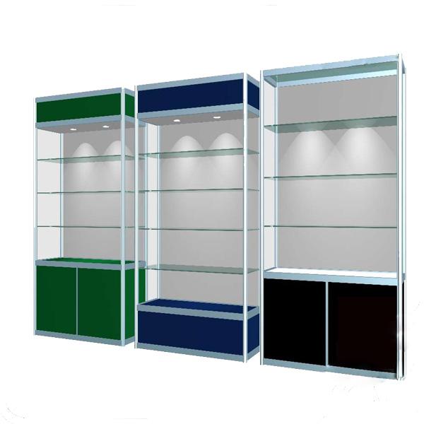 Một mẫu tủ kính trưng bày sản phẩm