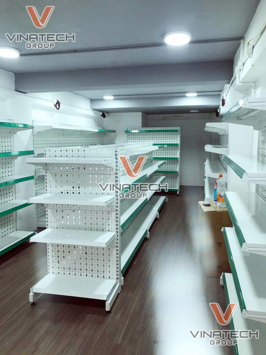 Hình ảnh lắp kệ sắt siêu thị tại Hà Nội 2