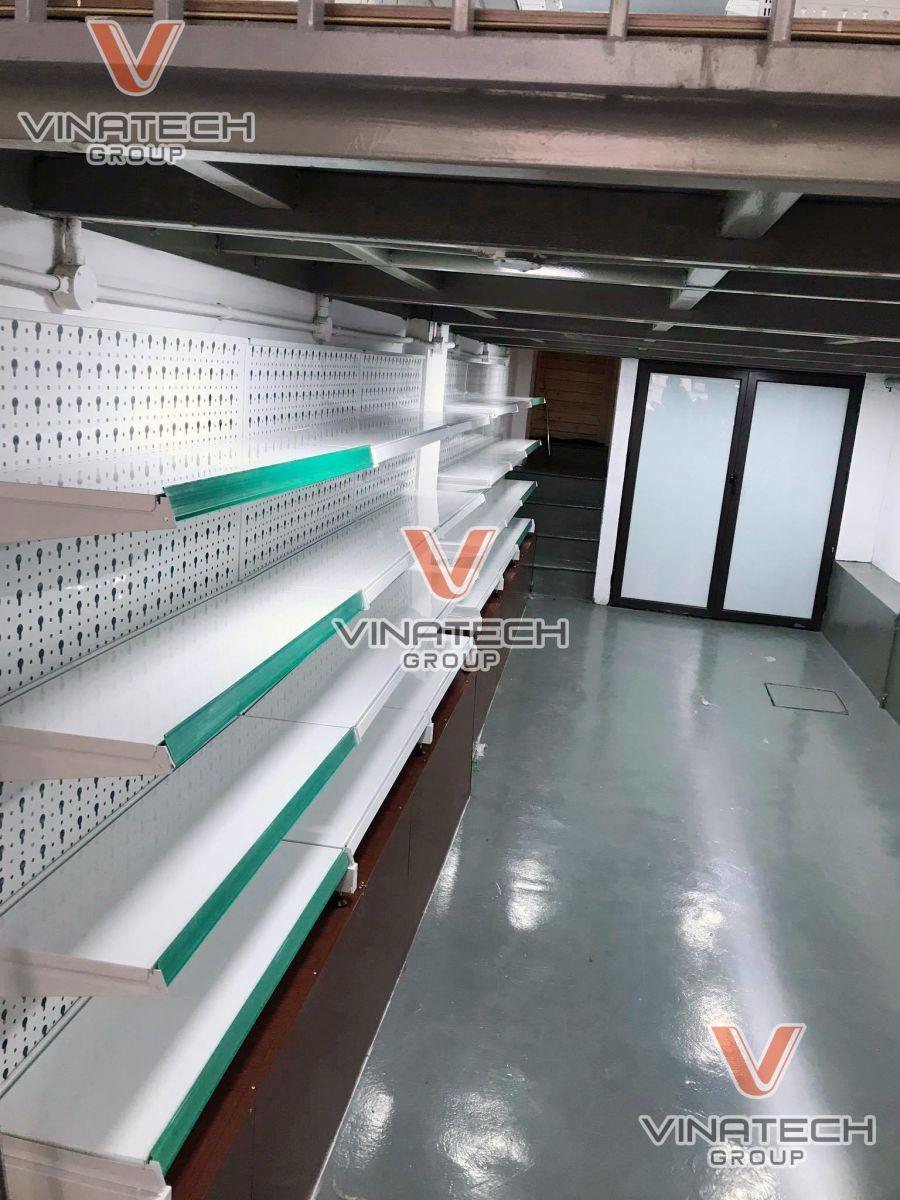 Hình ảnh lắp kệ sắt siêu thị tại Hà Nội 3