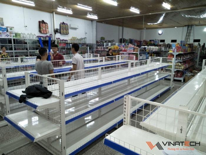 Lắp đặt siêu thị mini cho cô Hoa tại Việt Trì - Phú Thọ