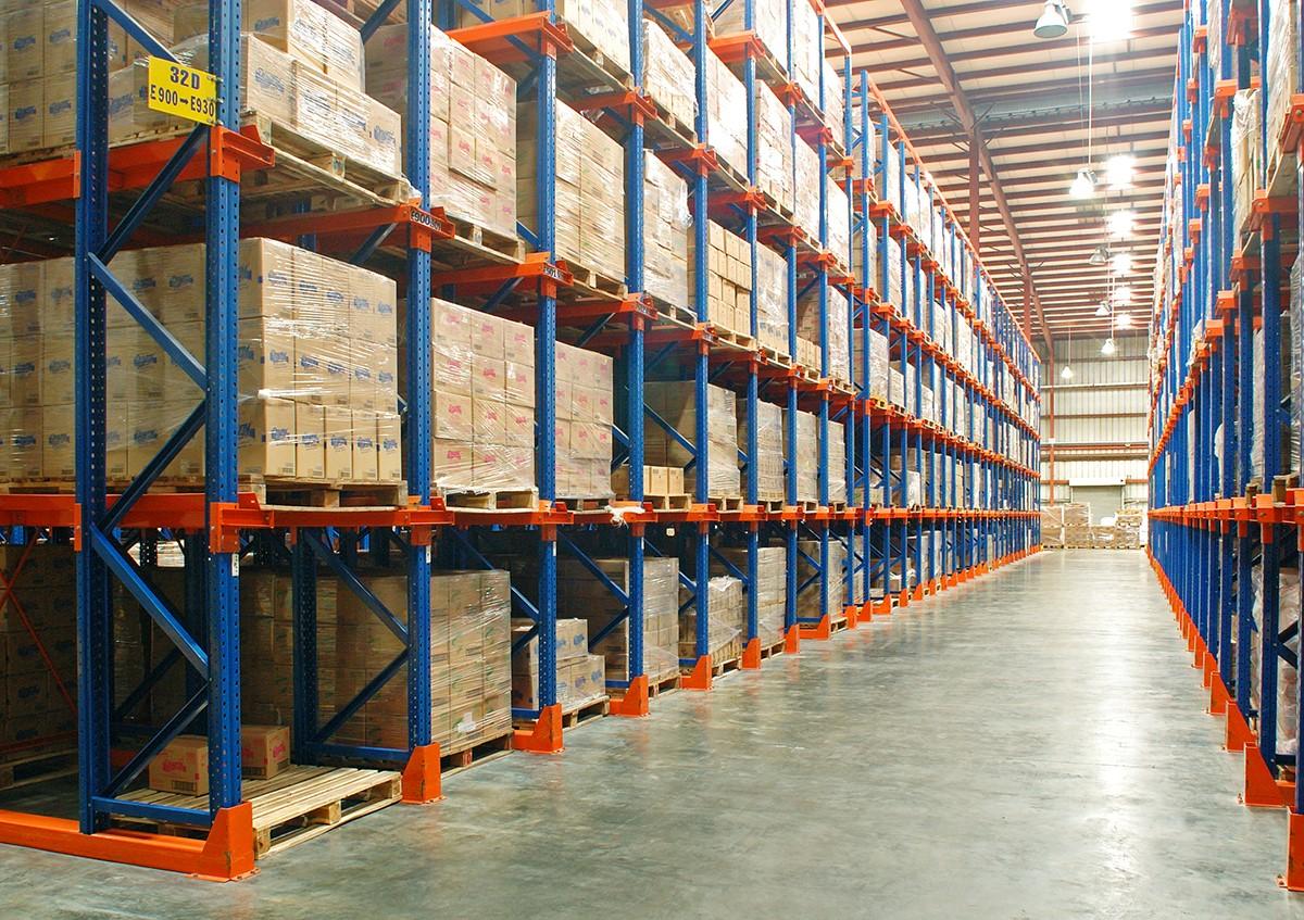 Kệ kho chứa hàng có mức trọng tải bao nhiêu?