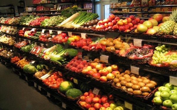 Lựa chọn giá kệ cho mặt hàng rau quả