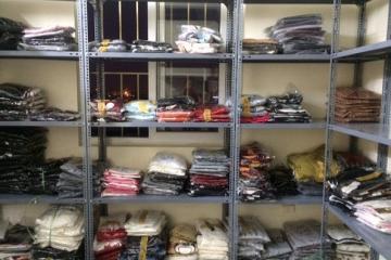 Kệ kho quần áo chất lượng cho cửa hàng, nhà kho, xưởng quần áo