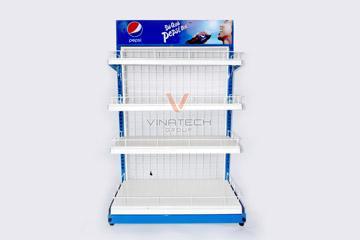 Sản xuất kệ quảng cáo cho Pepsico Việt Nam